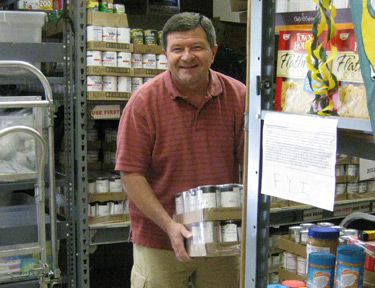 Your help is always appreciated at the Together We Cope food pantry