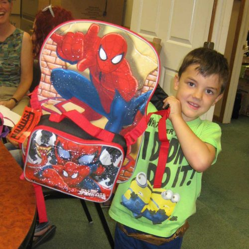 school supplies and backpacks from TWC