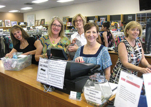 Together We Cope volunteer hours help at Nu2u, our resale shop
