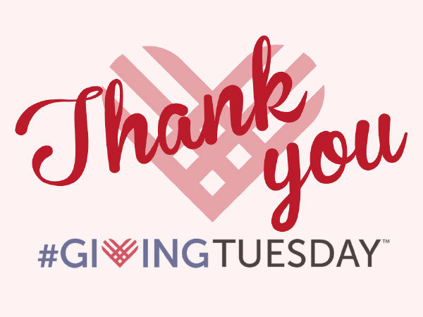 Together We Cope is beyond grateful for donations received on Giving Tuesday.