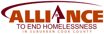 logo of the Alliance to End Homelessness in Suburban Cook County which coordinates the Cook County Continuum of Care (IL-511), encompassing homeless assistance efforts throughout all of Cook County except for the city of Chicago