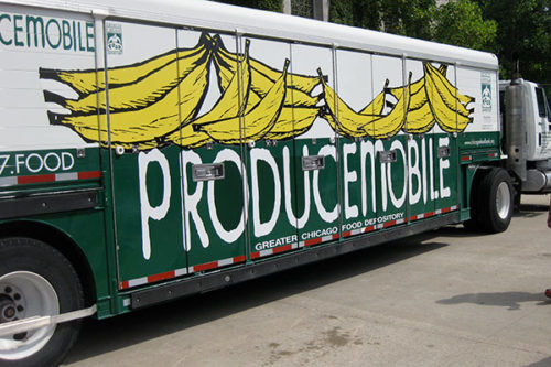 GCFD producemobile distributes fresh produce every month to area residents
