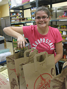 TWC volunteers make the pantry operation efficient and smooth.