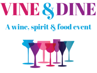 Wiley's Grill hosts Together We Cope's Wine & Dine event.