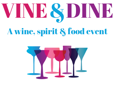 This is the logo for Together We Cope's inaugural Wine & Dine event